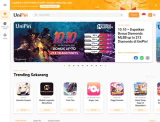 unipin.co.id screenshot