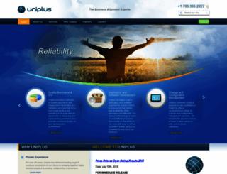 uniplus.com screenshot