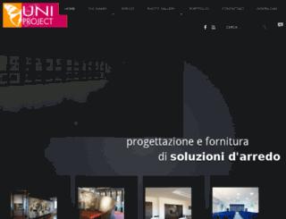 uniprojectsrl.com screenshot