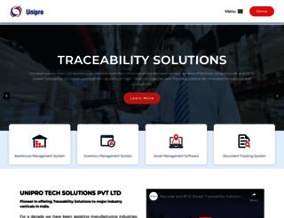 uniprotech.co.in screenshot