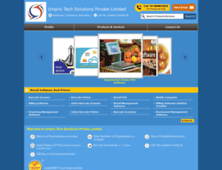 uniprotechsolutions.in screenshot
