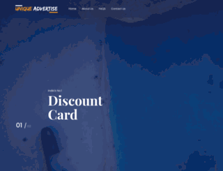 uniqueadvertise.com screenshot