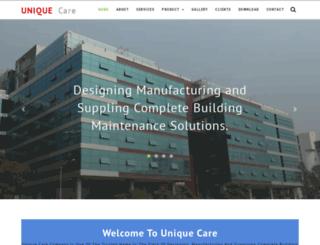 uniquecare.in screenshot