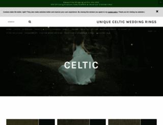 uniquecelticweddingrings.com screenshot