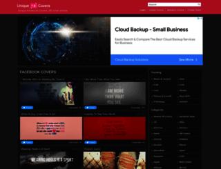 uniquefbcovers.com screenshot