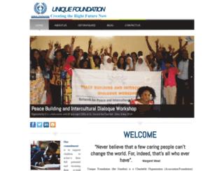 uniquefoundationgm-com.webs.com screenshot