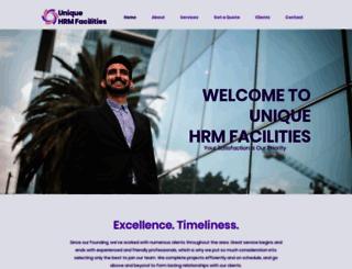 uniquehrm.com screenshot