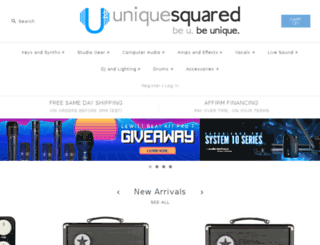uniquesquared.com screenshot