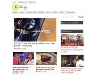 uniquevideos.net screenshot