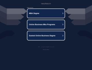 uniraj.resultsac.in screenshot