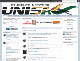 unisastudents.ning.com screenshot
