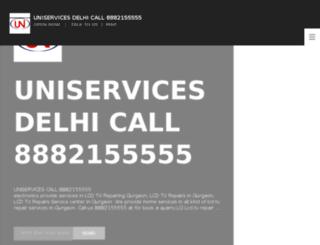 uniservicechandigarh.com screenshot