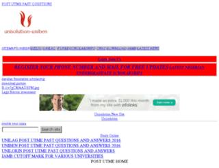 unisolution.wapka.mobi screenshot