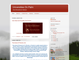 unisonpalm.blogspot.com screenshot