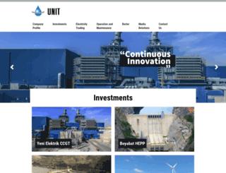 unit.com.tr screenshot