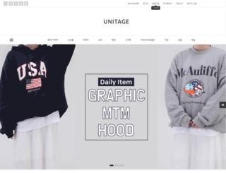 unitage.co.kr screenshot