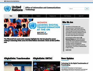 unite.un.org screenshot