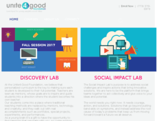 unite4good.org screenshot