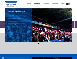 uniteam.fr screenshot