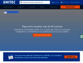 unitec.mx screenshot