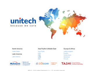 unitech-adc.com screenshot