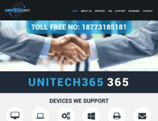 unitech365.com screenshot