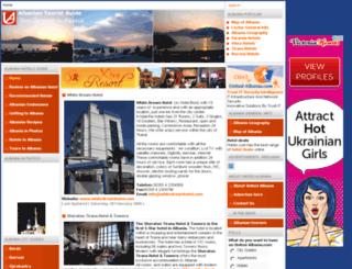united-albania.com screenshot
