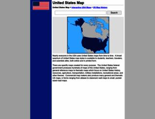 united-states-map.com screenshot