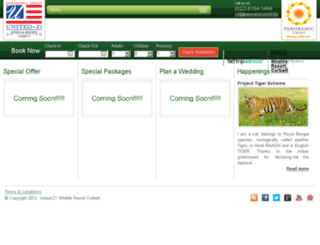united21resortcorbett.com screenshot
