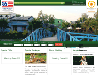 united21resortsunderbans.com screenshot