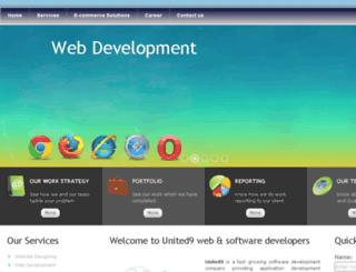united9web.com screenshot
