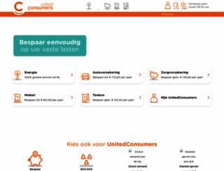 unitedconsumers.com screenshot