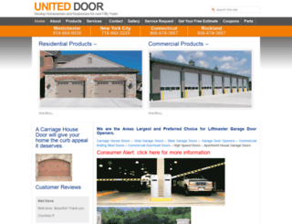 uniteddoor.com screenshot