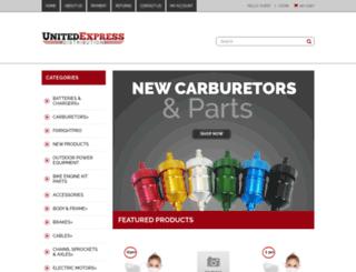 unitedexpressdist.3dcartstores.com screenshot