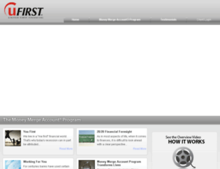 unitedfirstfinancial.com screenshot