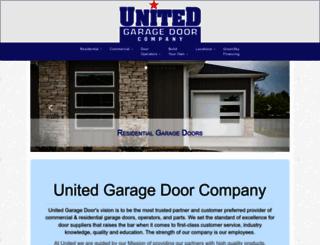 unitedgaragedoor.com screenshot