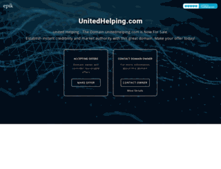 unitedhelping.com screenshot