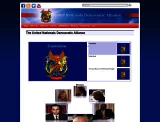 unitednda.org screenshot