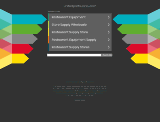 unitedpartsupply.com screenshot