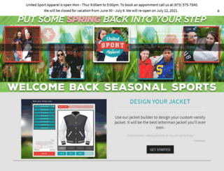 unitedsportapparel.com screenshot