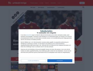 unitedsverige.se screenshot