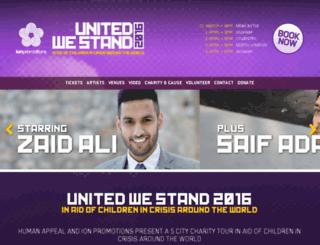 unitedwestand.org.uk screenshot