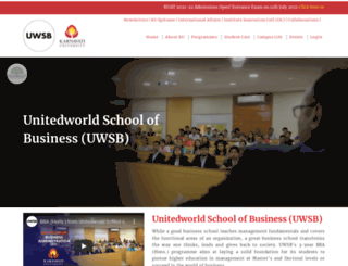 unitedworld.in screenshot