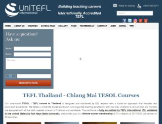 unitefl.com screenshot