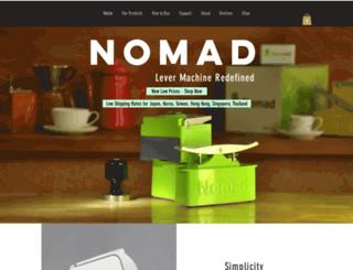 uniterra-nomad.com screenshot