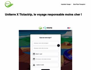 uniterre.com screenshot