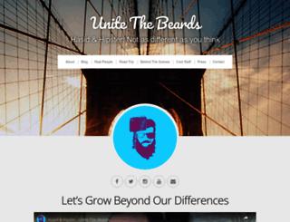 unitethebeards.com screenshot