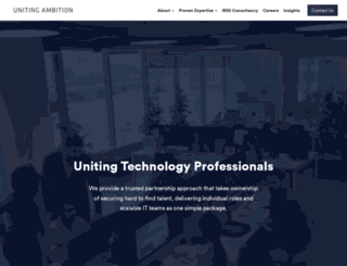 unitingambition.com screenshot
