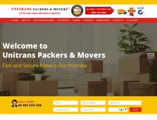unitranspackers.com screenshot