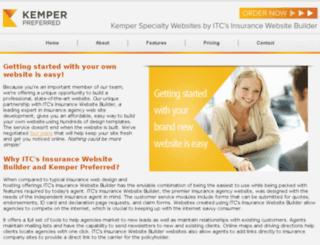 unitrinagentwebsites.com screenshot